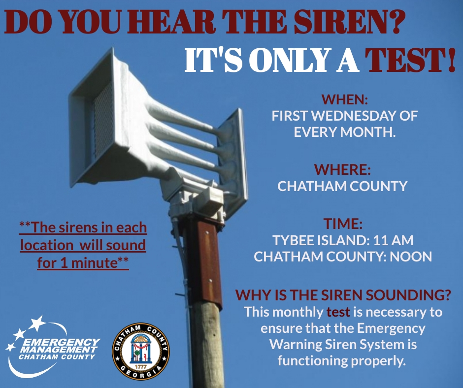 Siren Test July 3rd, 2019