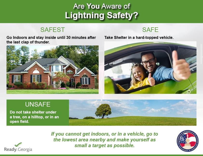 Lightning Safety Image